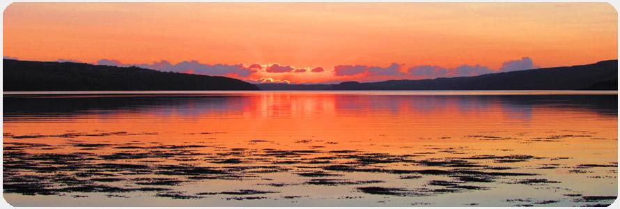 Sunset at Otter Lodge